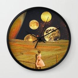 Jupiter field Wall Clock
