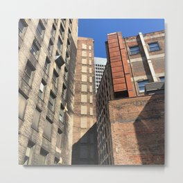 Cleveland Highrise layers Metal Print