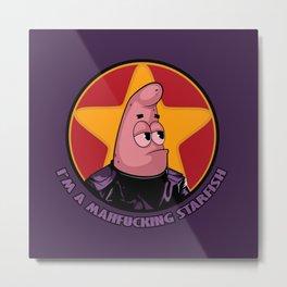 Patrick Starfish Metal Print