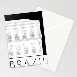 Brazil Facade Stationery Cards