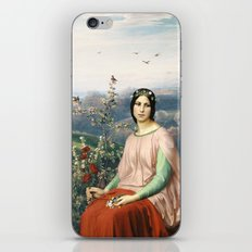 Lady of the Fields iPhone & iPod Skin