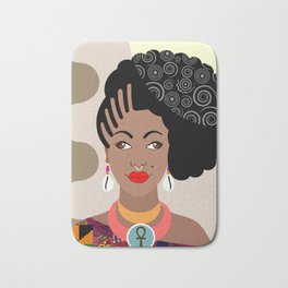 African Queen IV Bath Mat