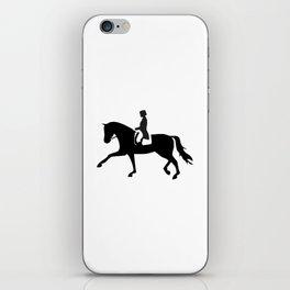 Dressage Rider iPhone Skin