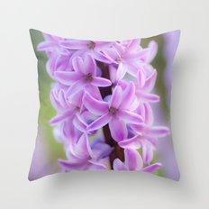 Hyacinthus orientalis 645 Throw Pillow