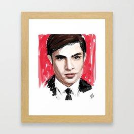 Chuck Bass Framed Art Print