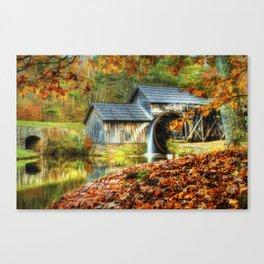Autumn 2015 at Mabry Mill Canvas Print