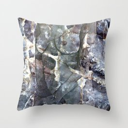 Metamorphosis Female Throw Pillow