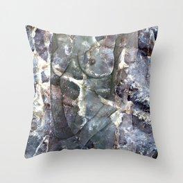 Metamorphosis Female Throw Pillow