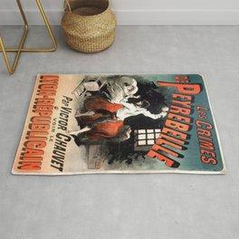 Vintage poster - Les Crimes de Peyrebeille Rug