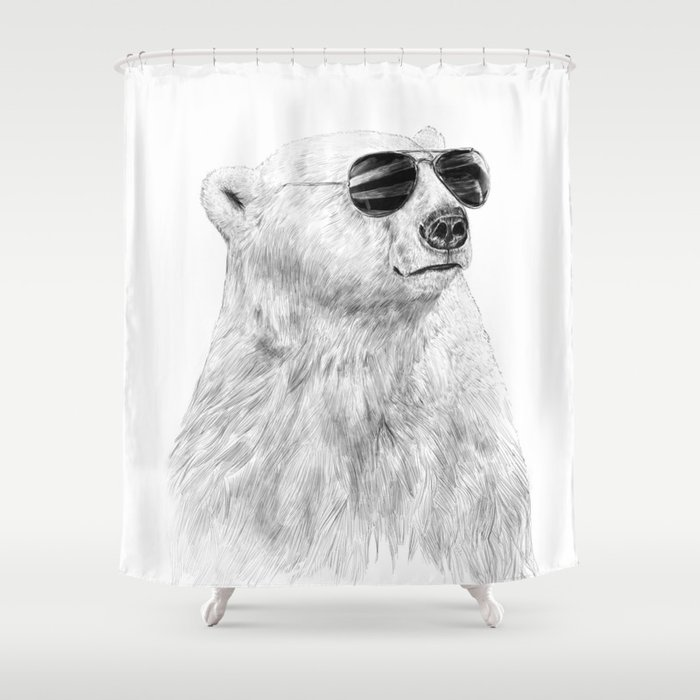 Don't let the sun go down Shower Curtain