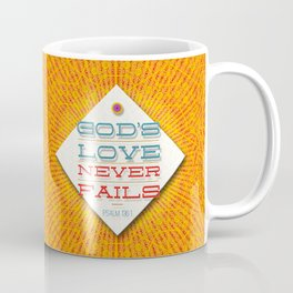 Never Fails Coffee Mug