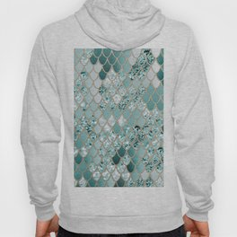 Mermaid Glitter Scales #3 #shiny #decor #art #society6 Hoody