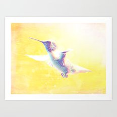In the morning.... Art Print