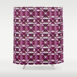 Fabolous Diamond Pattern C Shower Curtain