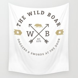 The Wild Boar Inn Wall Tapestry