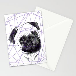 P U G  Stationery Cards