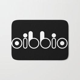 Oibbio Logo (Blackout) Bath Mat