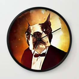 THE 2ND DOGTOR Wall Clock