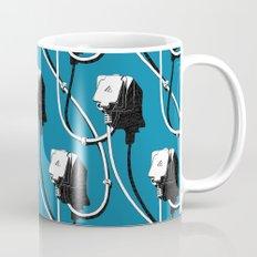 Wired. Blue Coffee Mug