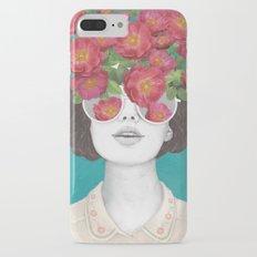 The optimist // rose tinted glasses Slim Case iPhone 7 Plus