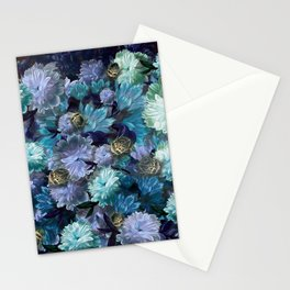 """Baroque floral with bugs"" Stationery Cards"