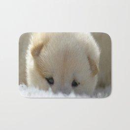 Shiba Inu Puppy Bath Mat