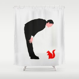 The story about me and the squirrel Shower Curtain