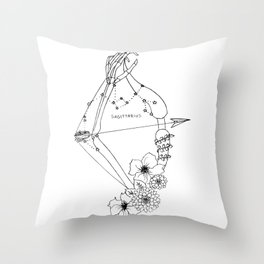 // Sagittarius // Throw Pillow