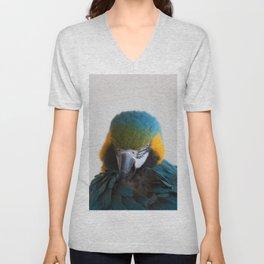 Parrot Ara Unisex V-Neck