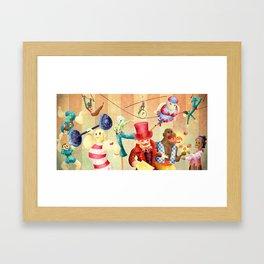 Mr Kite Framed Art Print