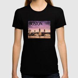 Longfellow Bridge, Boston MA T-shirt