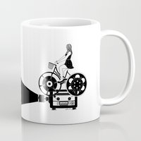 cinema Mugs featuring Cinema Paradiso by Henn Kim