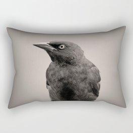 Goth Grackle Rectangular Pillow