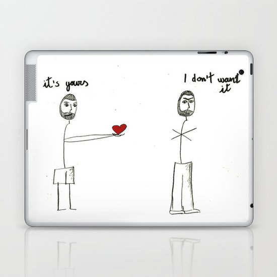 My heart is yours Laptop & iPad Skin