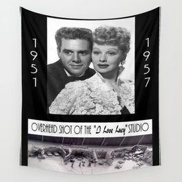 I Love Lucy Wall Tapestry