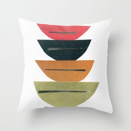 Abstract 013 Throw Pillow