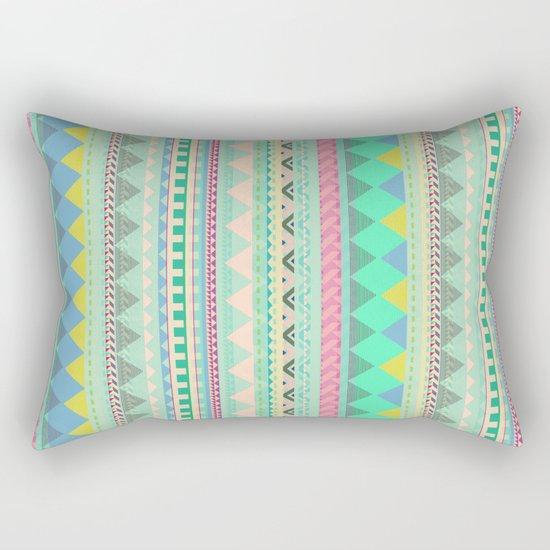 PASTEL AZTEC Rectangular Pillow
