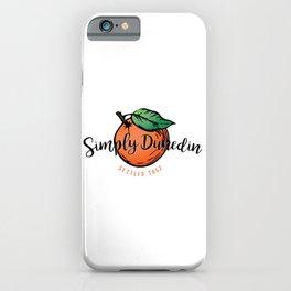 Simply Dunedin iPhone Case