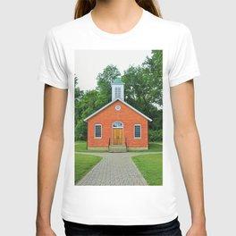 Wildwood Schoolhouse- vertical T-shirt