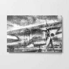 Vintage Aviation Metal Print