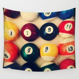 TTV Pool Balls Photography Wall Tapestry