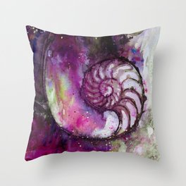 Nature Music No.1G by Kathy Morton Stanion Throw Pillow