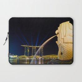 The Merlion of Singapore Laptop Sleeve
