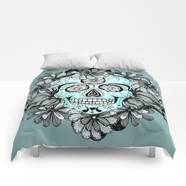 Blue Sugar Comforters