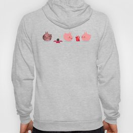 Pink Creature Gets A Bomb As Present Hoody