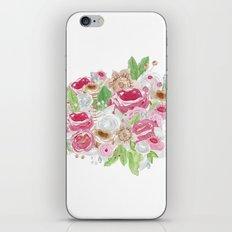 Ramo de acuarela iPhone & iPod Skin