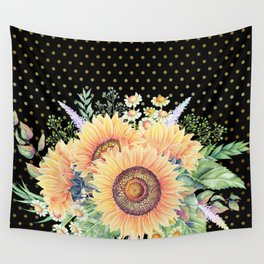 Flower bouquet #35 Wall Tapestry