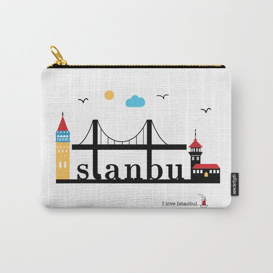 Istanbul. Carry-All Pouch