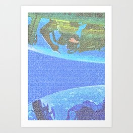 Top Gun Screenplay Print Art Print