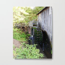 Cable Mill in Cades Cove Metal Print